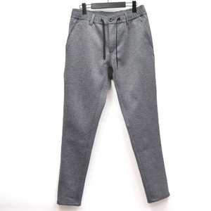 Aqua Guard Zip Jersey Tapered Pants Gray
