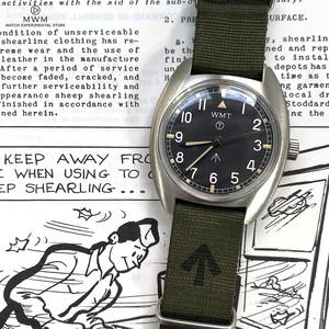 """WMT WATCH Milspec – W20 """" British Armed Forces """" / Non-Aged Version GREEN"""