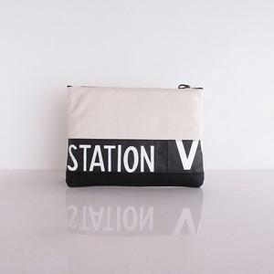 Clutch Bag / White  CLW-0009
