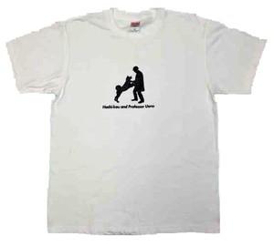 ハチ公デザインTシャツ ホワイト