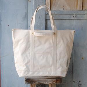 4handle tote bag L size 生成り
