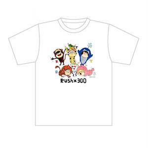 【Rush×300】2018.5.4「4周年記念★拓磨作Tシャツ」