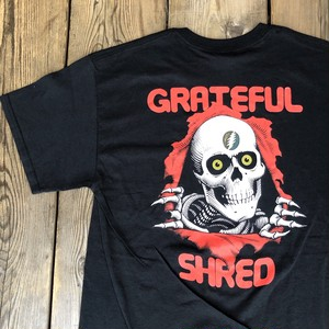"Grateful Shred ""Grateful Brigade"" pocket S/S Tee  size M"