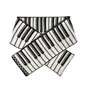 Wool Scarf - Piano