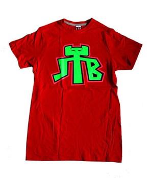 【JTB】JTB LOGO TシャツD【レッド】【新作】イタリアンウェア【送料無料】《M&W》