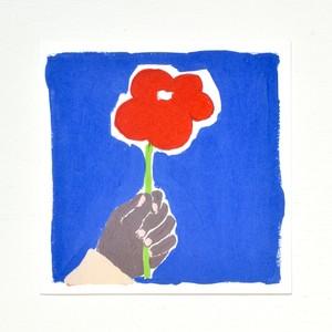 ポストカード_やっぱお花だね。