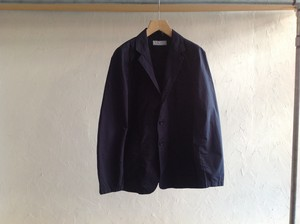 "UNIVERSAL PRODUCTS.""COTTON TAILORED JACKET NAVY"""