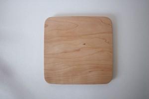 松下由典|木のトレイ 正方形 メープル