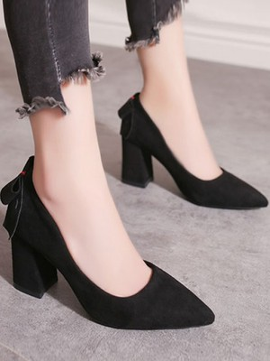 【shoes】Female fashion temperament pumps