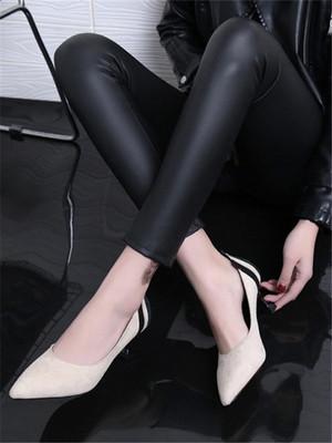 【shoes】Fashion design high heels single shoes