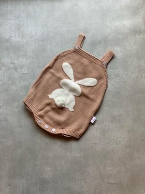 Rabbit knit rompers