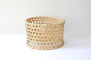 bamboo dish drainer  /  竹の水切りかご