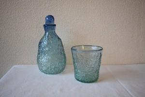 アイスカットデカンタ&ロックグラスセット