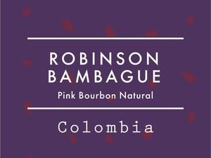 【100g】コロンビア / ROBINSON BANBAGUE Pink Bourbon Natural