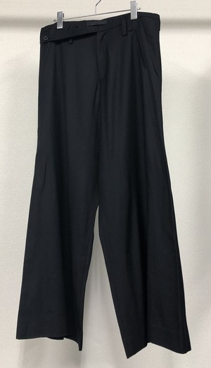 2000s KOSMETIQUE LABEL EXTREME WIDE LEG TROUSERS