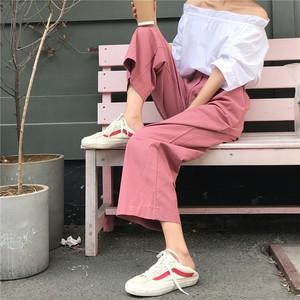 カジュアル ストレート シンプル パンツ