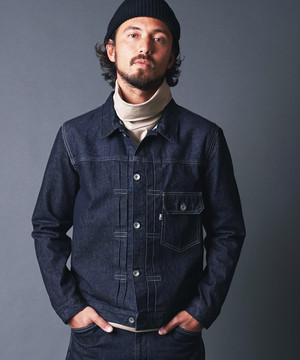 WASHED DENIM JACKET TYPE 1ST