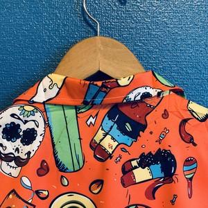 陽気なメキシカンのアロハシャツ