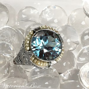 Antique Natural Zircon Ring
