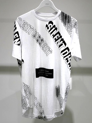STAMPD Silent Dissent Scallop Tee