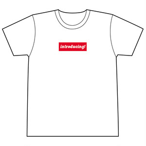 (T-Shirts) introducing! Original Logo T-shirts (White)