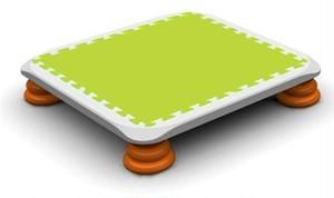 バンバンボード(緑色)一般用スプリング 安全 で 音が響きにくい 人気 の 室内・家庭用 の おすすめトランポリン Green クリスマスプレゼント