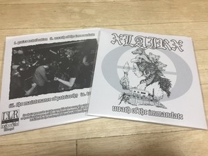 "xLAIRx - Wrath Of The Immaculate 7"" 2ndプレス"