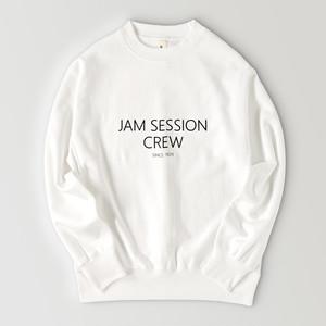 JAM SESSION CREW SWEAT (WHITE)