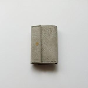 roll wallet - gray - ALASKA
