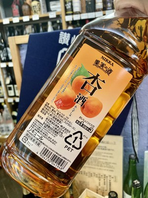 【アサヒ】大容量・濃縮カクテルコンク『果実の酒 杏酒 カクテルコンク ペットボトル 1800ml』