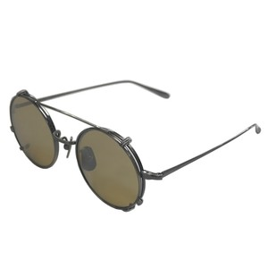 two way titanium sunglasses / gold(KANEKO optical made)