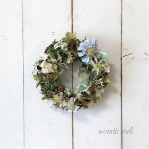 Natural wreath ・ミルクティー色のリース