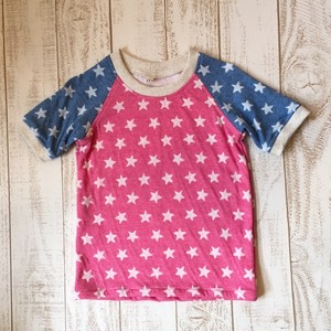 キッズ お星様ラグランスリーブTシャツ/サイズ120