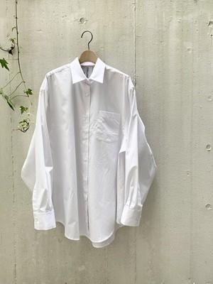 【COLLUTION】オーバーサイズド ホワイトシャツ