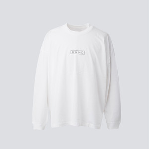 BIG BAKEWALL LONG SLEEVES T-SHIRT【 WHITE 】