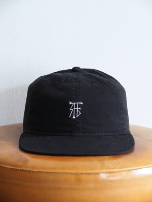 FUJITOSKATEBOARDING Cap Mark SYL ver. Black