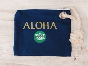 [WHOLE FOODS×PUNA NONI] ALOHA ロープポーチ