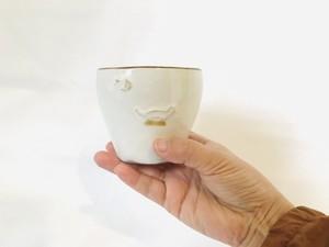 陶器 広コップ(山ひつじ舎)