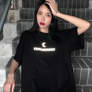 【トップス】ファッションプリント半袖Tシャツ26519874