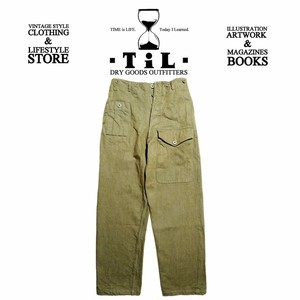 """JELADO """"BASIC COLLECTION"""" Sea Rover Trousers ティーグリーン [CT41349]"""