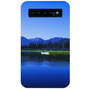モバイルバッテリー カナダ・ユーコン川