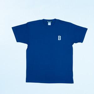 """""""B"""" 半袖Tシャツ(インディゴ)"""