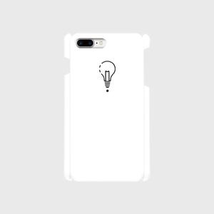 【8Plus,7Plus】ロゴiPhoneケース白