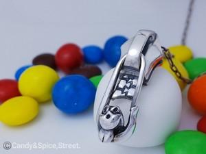 ROONEY Zipper(Fastener) Pendant-top ジッパー(ファスナー) ペンダントトップ☆シルバーアクセサリー Pt-52