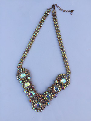 70s-80s Czech Necklace