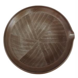 小鹿田焼 すり鉢 1尺 シンプルなすり鉢