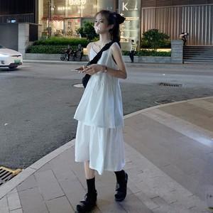 レイヤード風キャミワンピ1011-200627008