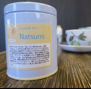 乙女の紅茶【Natsumi】缶入り茶葉35g
