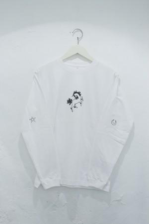 """ide tatsuhiro """"ユニコーン""""longT-shirt"""