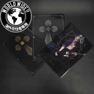 "【WorldWide】[ALL TIME BEST ""DAY 2""] 3clear plastic folder per package"